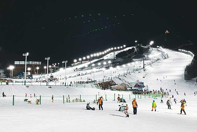 北京のスキー場